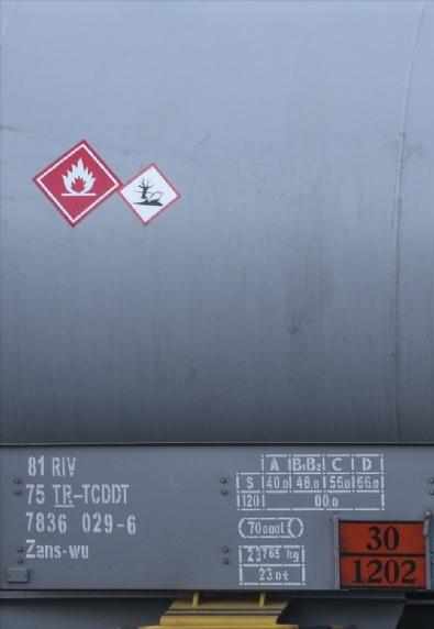 Ankara'da Yakıt Treni Raydan Çıktı