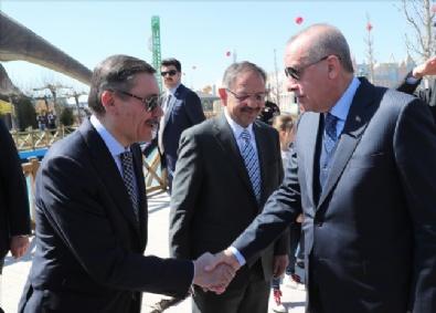 Cumhurbaşkanı Erdoğan, Ankapark Açılış Törenine Katıldı
