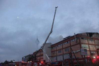 Büyükçekmecede Büyük Fabrika Yangını: 4 Ölü