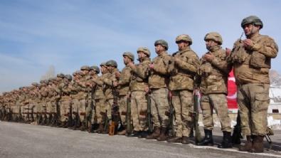 Kahraman Komandolar Suriyeye Uğurlandı
