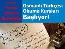 Osmangazi'de Osmanlıca kursu