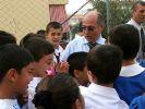 Başkan her hafta bir okul ziyaret ediyor