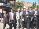 Meclis Başkanı, Yusufeli Kaymakamı'nı ziyaret etti
