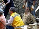 Konya'da caminin kubbesi çöktü