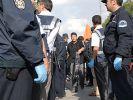 Polise domuz gribi eldiveni