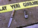 Liseli kız babasını göğsünden bıçakladı