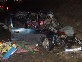 Çankırı'da feci kaza: 3 ölü