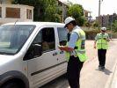 Alanya'da sürücülere ceza kesildi