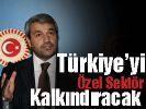 Ergün: Türkiye'yi özel sektör kalkındıracak