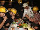 Maden işçileri, ilk sahuru yaptı
