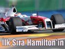 Formula 1'de Hamilton ilk sırayı kaptı