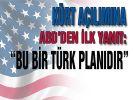 'Bu plan bir Türk planı'