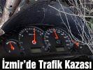 İzmir'de trafik kazası; 16 yaralı