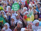 Barış mitingi mi? PKK mitingi mi?