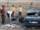 Konya'da feci kaza 3 ölü 5 yaralı