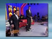 Dünyanın en uzun adamı ile en kısa adamı Beyaz Show'da