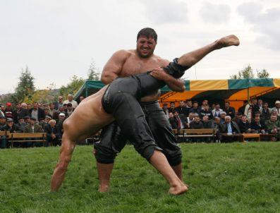 DEMIRŞEYH - Demirşeyh Karakucak Yağlı Güreşleri'nde Başpehlivan Şaban Yılmaz Oldu