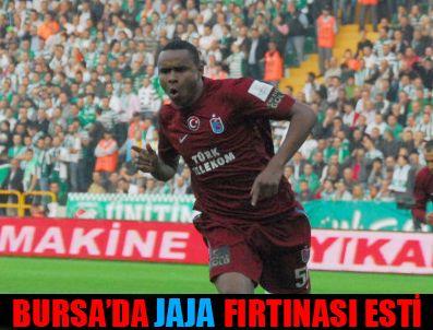 BORDO MAVILI TAKıM - Bursaspor 0-2 Trabzonspor
