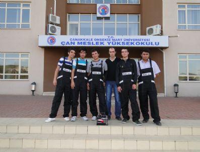 MUTLU AKÜ - Mutlu Akü'den Çan Meslek Yüksekokulu'na Destek