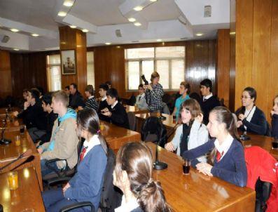 BİYOGAZ - Alman Öğrenciler Belideyiye Ziyaret Etti