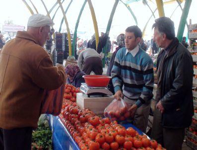 BİYOGAZ - Gediz'de Biyogaz Ve Toprak Kaynaklı Isı Sistemiyle Üretilen Sebzeler Pazarda