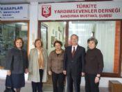 Başkan Pekel, Türkiye Yardım Sevenler Derneği'ni Ziyaret Etti