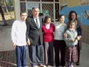 Başkanvekili Halimoğlu'ndan Engelliler Okuluna Ziyaretı