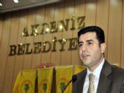 Bdp Genel Başkanı Demirtaş Mersin'de