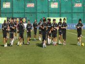 Beşiktaş'ta Bursaspor Maçı Hazırlıkları Başladı