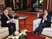 Cumhurbaşkanı Gül Türk Konseyi Genel Sekreteri Halil Akıncı'yı Kabul Etti