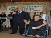 Engelliler Engel Tanımadan Doyasıya Eğlendi