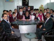 İlköğretim Öğrencilerinden Anadolu Sakatlar Derneği'ne Ziyaret
