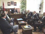 Kurduaktepe Köyü Derneği'nden İl Genel Meclisi Başkanı Naci Şavata'ya Teşekkür Ziyareti