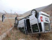 Muş'ta Trafik Kazası, 1 Yaralı