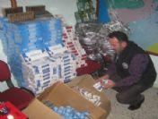 Samandağ'da Kaçakçılık Operasyonu