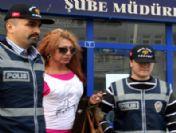 Sanal Alem Travestisi Suçüstü Yakalandı