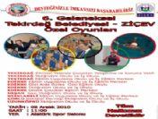 Tekirdağ Belediyesi-ziçev Özel Oyunları 8 Aralık'ta Başlayacak
