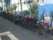 Adana'da 31 Çalıntı Motosiklet Ve Mobilete El Konuldu