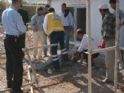 Antalya'da İnşaat Kazası