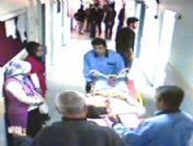 Başına Saplanan Demir Çubukla Hastaneye Kaldırıldı