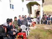 Erciş Kaymakamı Fani, Bir Günde 5 Köy 2 Mezrayı Ziyaret Etti