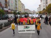 Karaman'da Toprağa Saygı Yürüyüşü