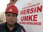 Mersin'de 14 Katlı Binada Kurtarma Tatbikatı