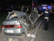 Samsun'da Tır Otomobile Çarptı: 1 Ölü, 1 Yaralı