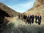 Sivas Valisi Ali Kolat Gemindersinde Ki Duble Yol Çalışmalarını İnceledi