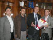 Tgf Başkanından Muslu'ya Ziyaret