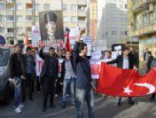 Türkiye Gençlik Birliği Füze Kakanı Projesini Protesto Etti