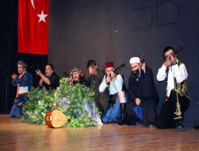 MUSTAFA CANDAN - 'Ölümün Adı Mehmet' Nazilli'de Sahnelendi