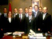 Gagiad, Vali Süleyman Kamçı'yı Ziyaret Etti