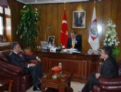 Kayseri Vergi Dairesi Başkanı Özkök'den Melikgazi Belediyesi'ne Ziyaret